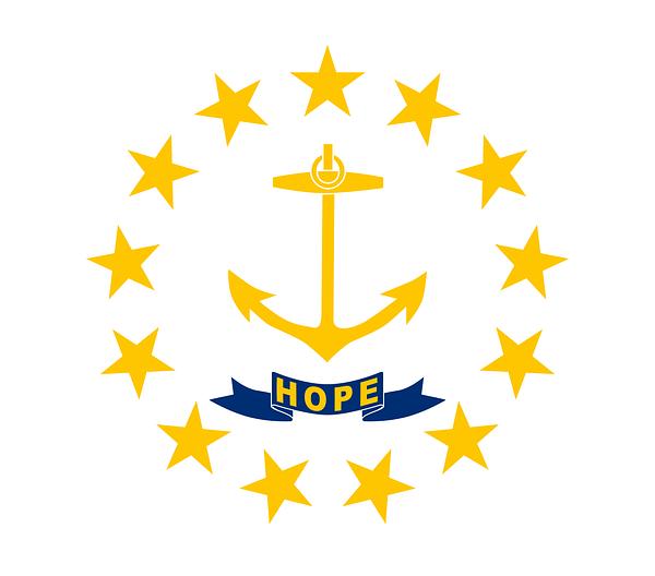 Rhode Island Flag HOPE