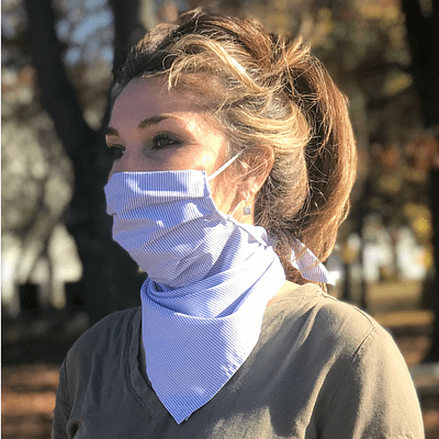 Fashion Face Mask duals as scarf