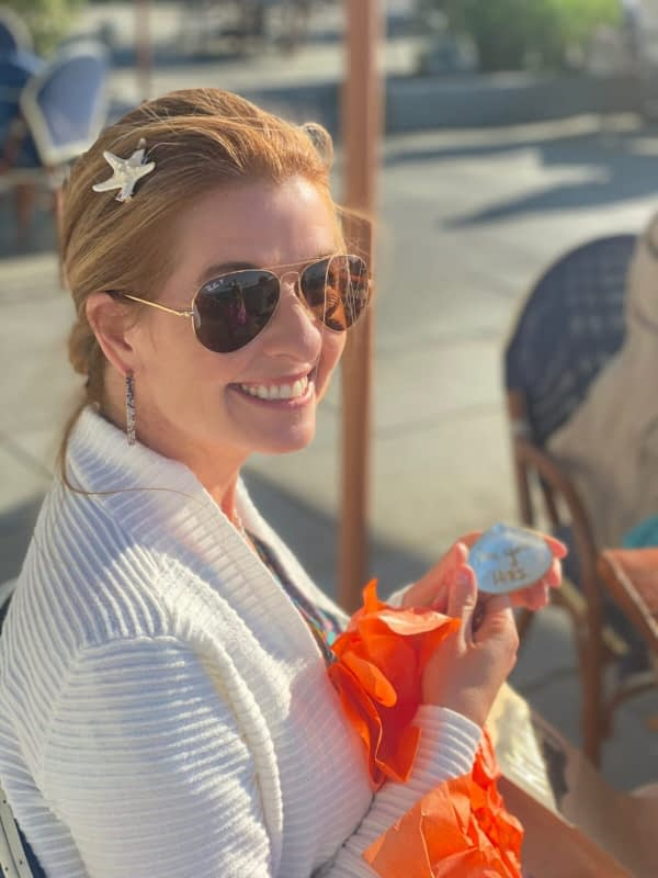 Hillary Olinger Weyer Starfish accessory Chris Cline Design
