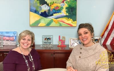 Karen Warfield of Textron with Newport Living and Lifestyles