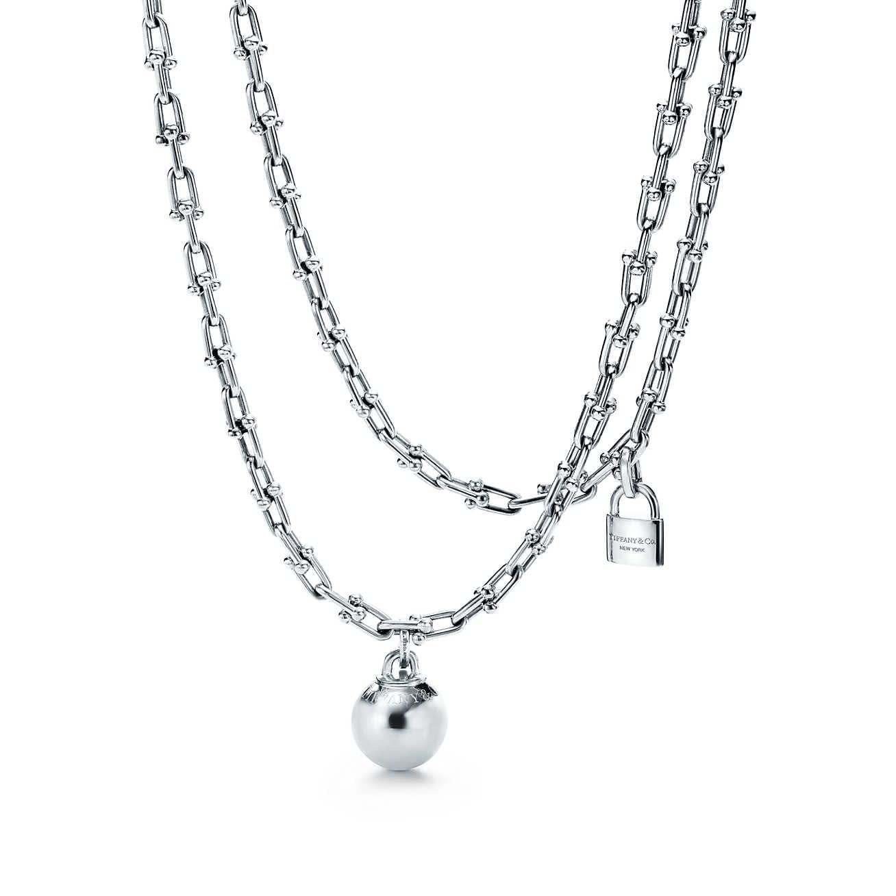 Mothers Day Gift ideas from Newport Living and Lifestyles Tiffany & Co. Tiffany HardWear wrap necklace ball and chain Wrap Necklace $2600