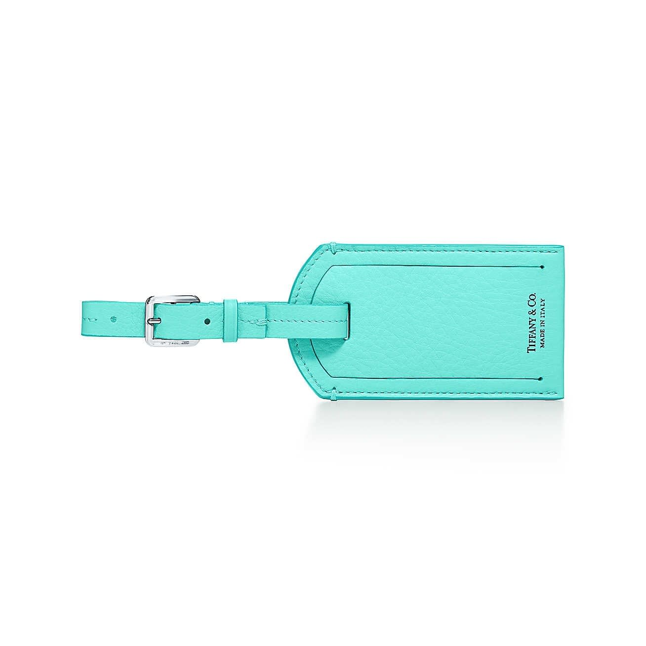 Mothers Day Gift ideas from Newport Living and Lifestyles Tiffany & Co. Luggage Tag $200
