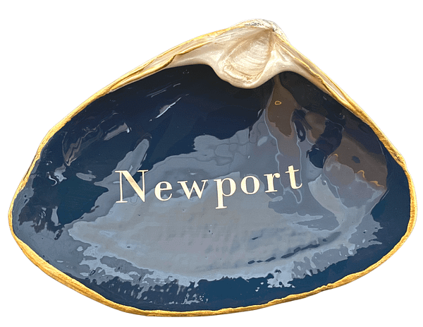 Newport on Navy ChrisClineDesign