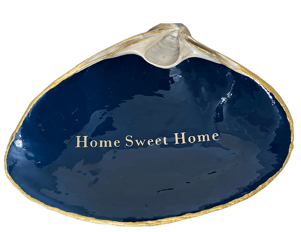 Home Sweet Home on Navy Blue ChrisClineDesign