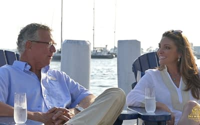 Tom Maynard of Atlantic Coast Yacht Brokers with Newport Living and Lifestyles