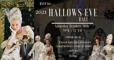 2021 Hallows Eve Ball Newport Living and Lifestyles