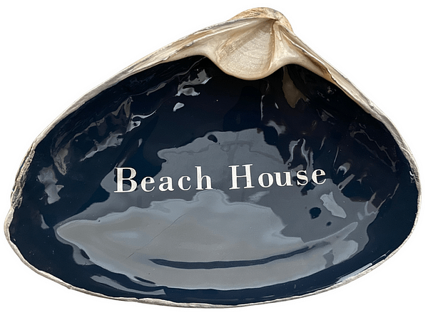 Beach House on Navy ChrisClineDesign